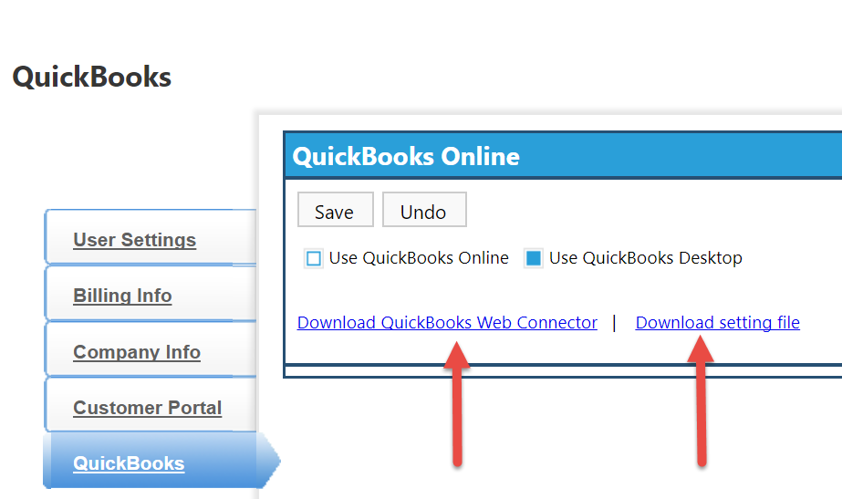 Syncing clipitc with quickbooks desktop clip software help center now click the second link called download setting file this file will create the link between your clipitc account and your quickbooks web connector ccuart Choice Image