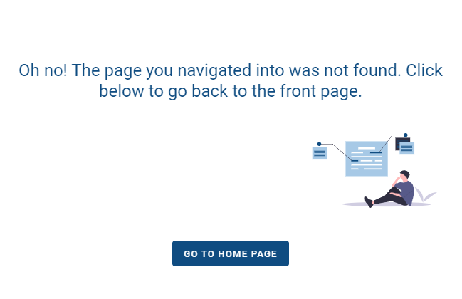 sniffie 404 page