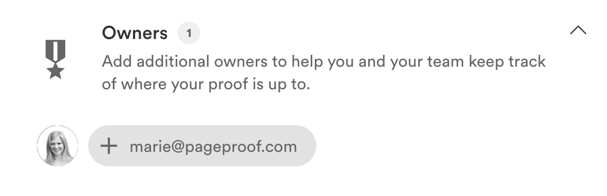 add additional proof owners to a proof