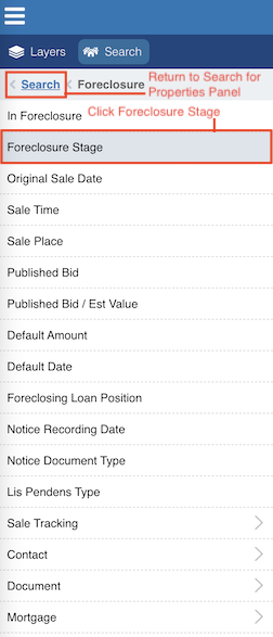 Click Foreclosure Stage image