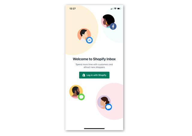 Shopify Inbox , Shopify , Shopney , In app chat