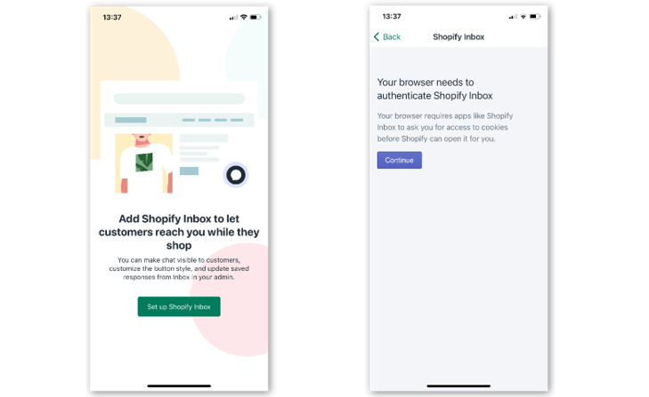 Shopify Inbox , Shopify , Shopney , In app chat , Shopify chat