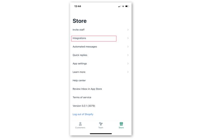 Shopify Inbox , Shopify , Shopney , In app chat, Shopney chat, Shopify chat