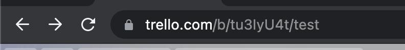 Board ID in Trello URL