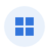Grid view icon in the toolbar