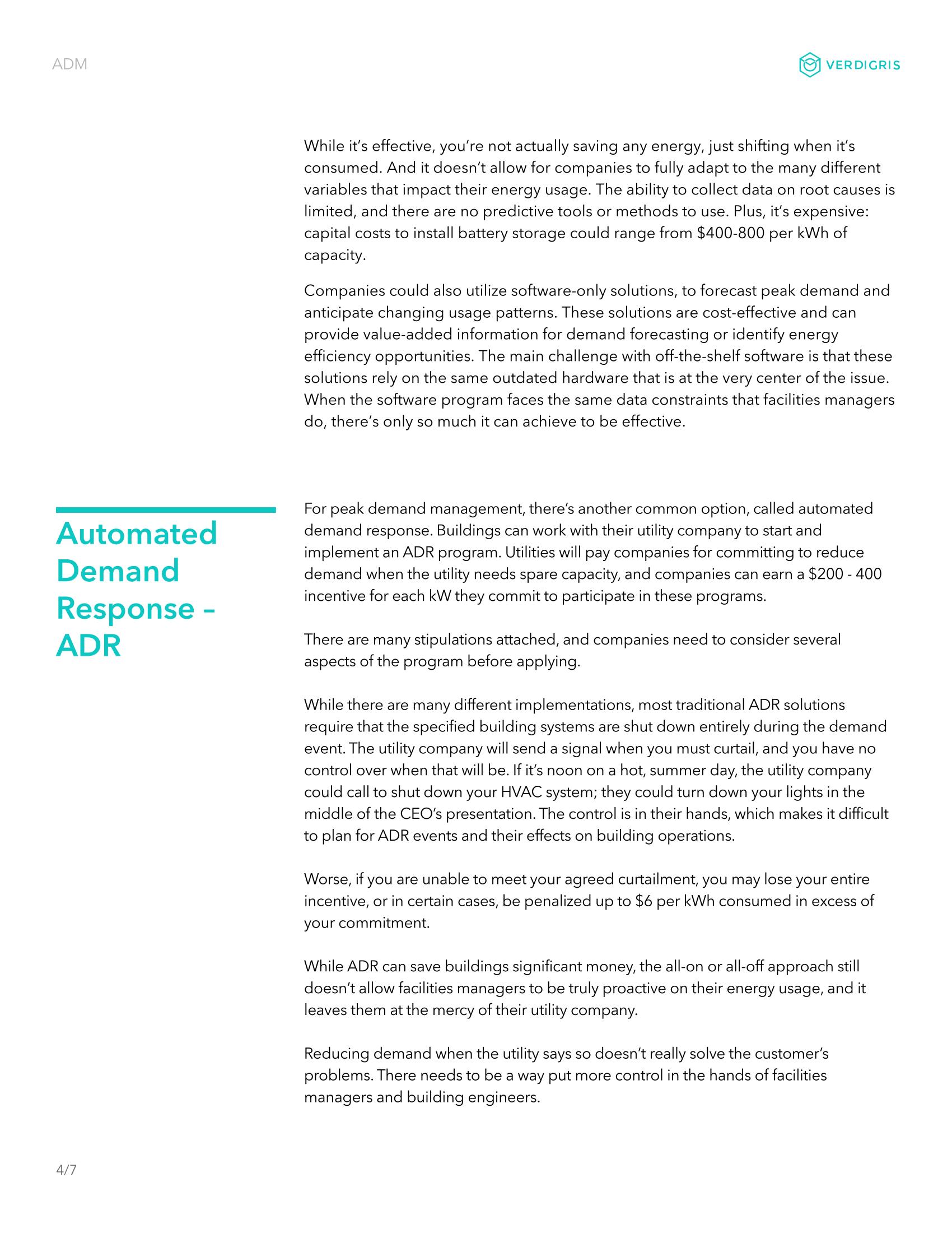 Automated Demand Management 4