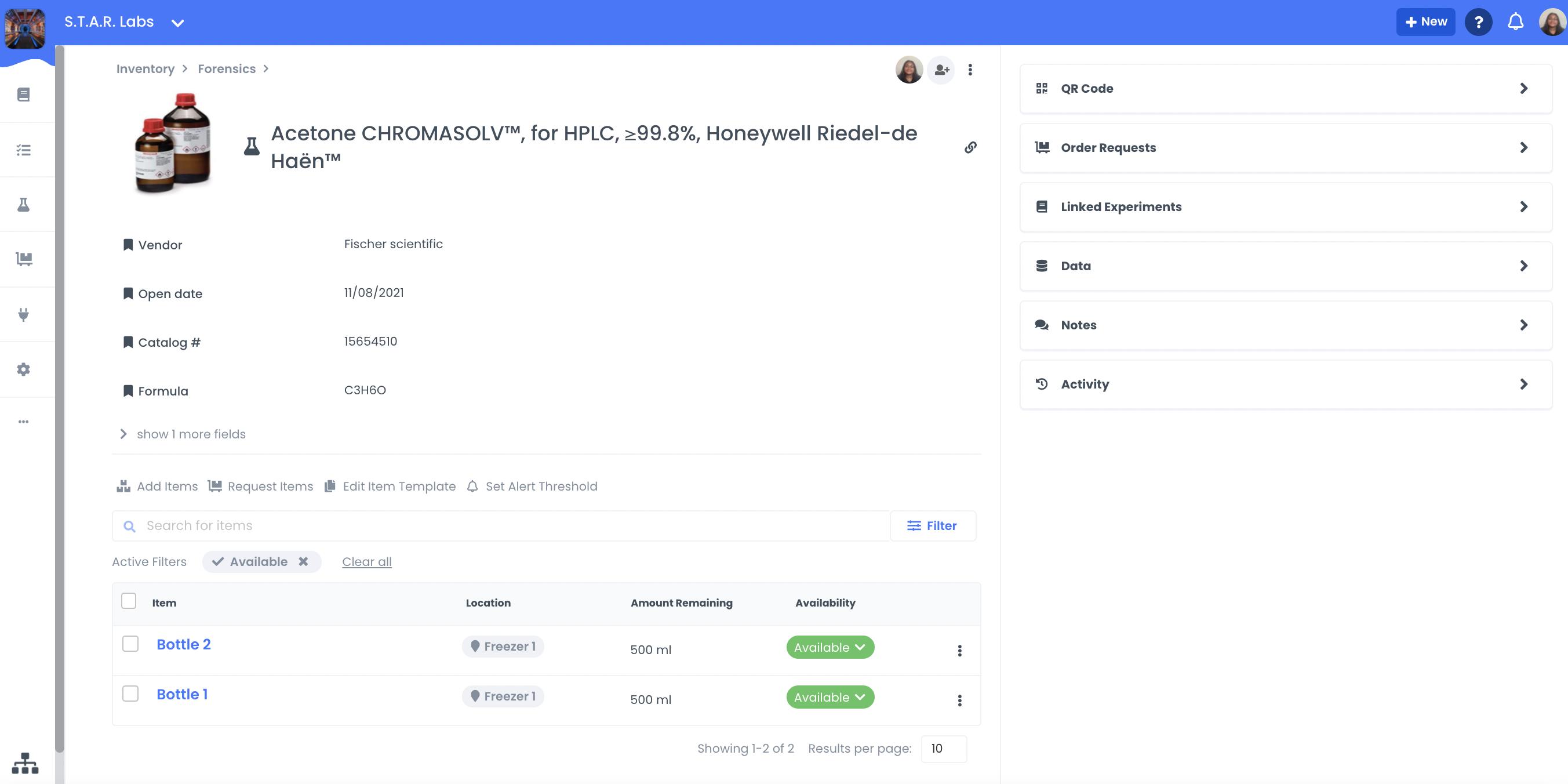 A screenshot showing what a resource looks like