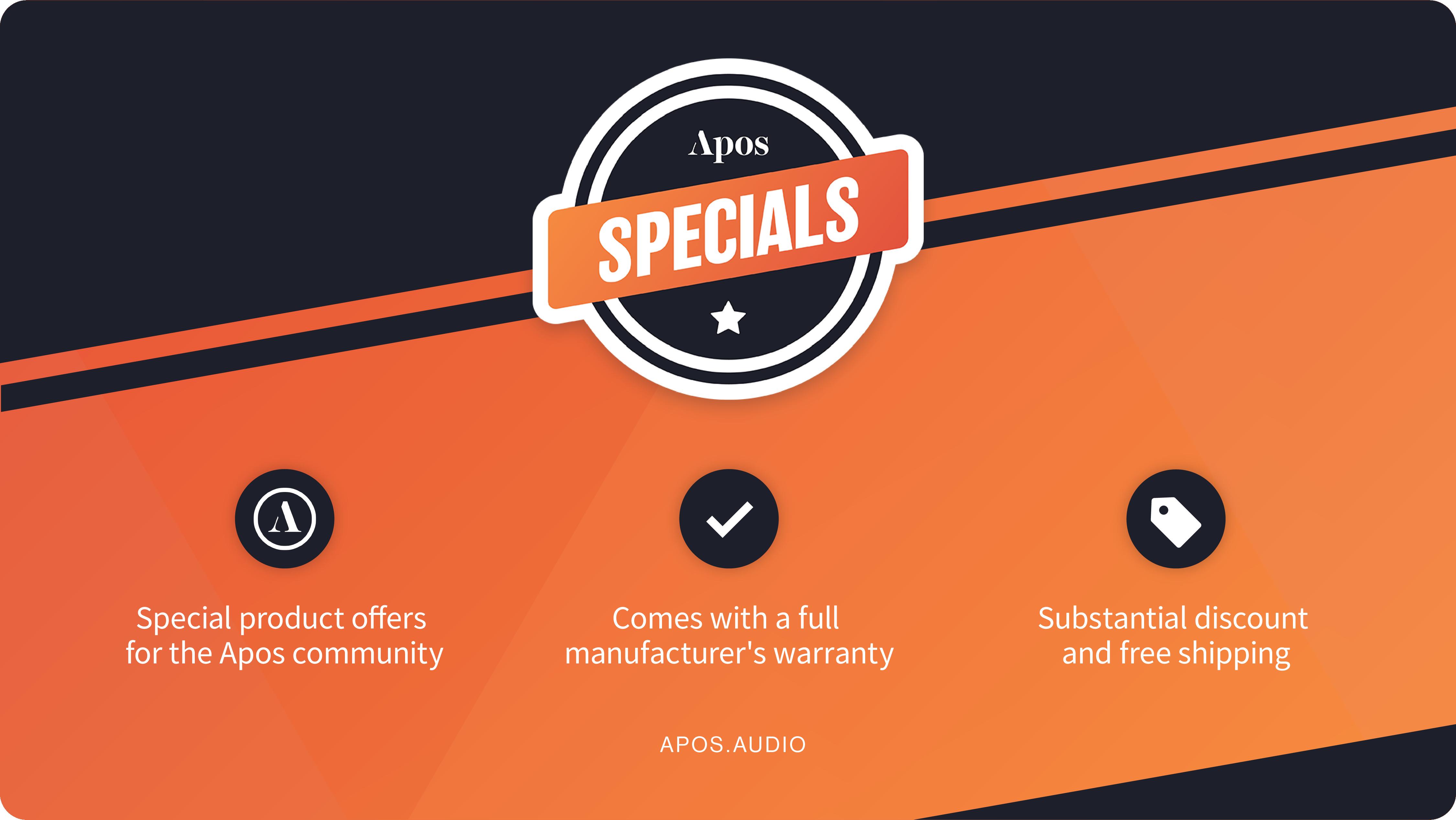 Apos Specials