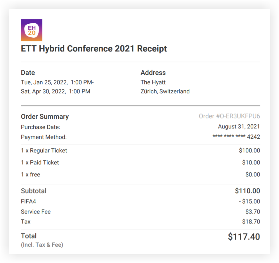 Screenshot of a PDF receipt.