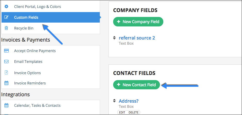 2) When Editing Or Creating A Contact, You Can Use This New Field To Link  Your Client With The Additional Person Youu0027d Like To Send Invoices To.  Send An Invoice