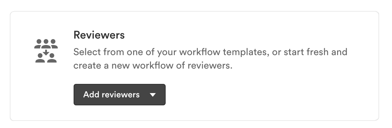 Add reviewers in the reviewers section