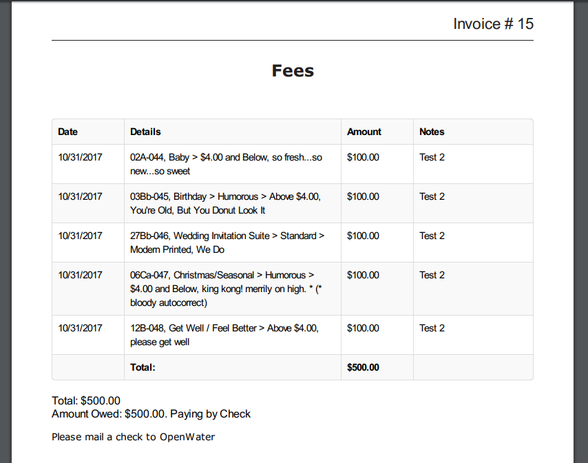 Brand Your Invoice Or Receipt Pdf Template Openwater Help Center
