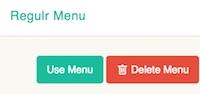 Regulr  - Use menu
