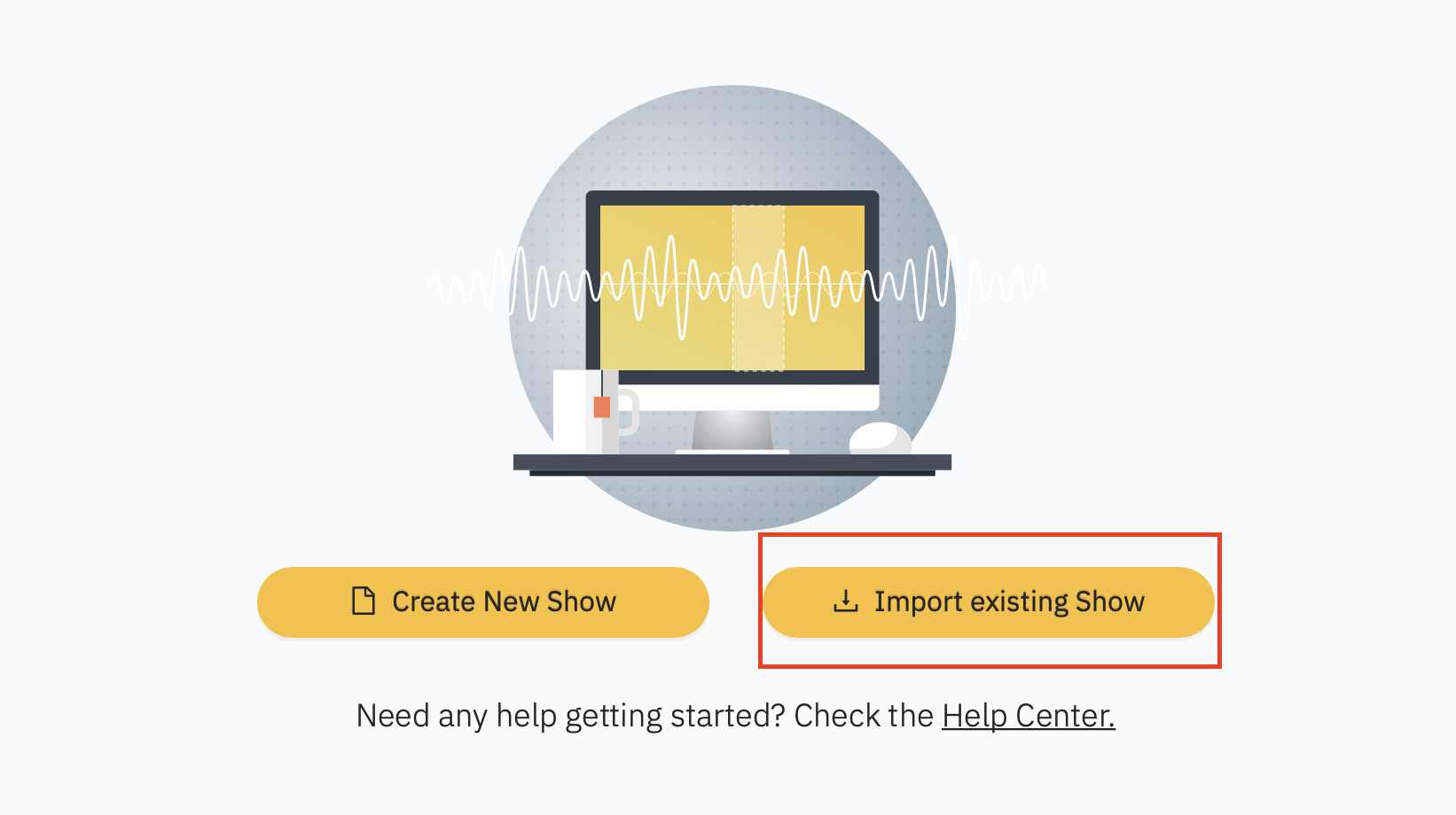 importing your show into acast