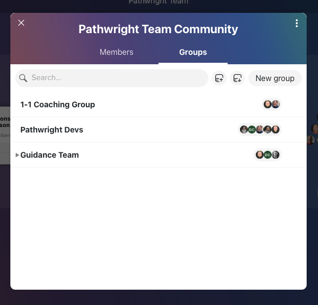 Mentor Groups