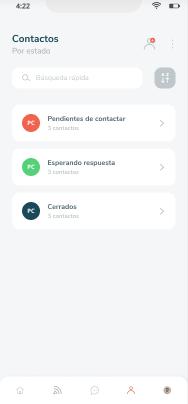 Clasificación de estados de contacto en Tokko Broker App