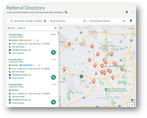 Graphical user interface, map  Description automatically generated