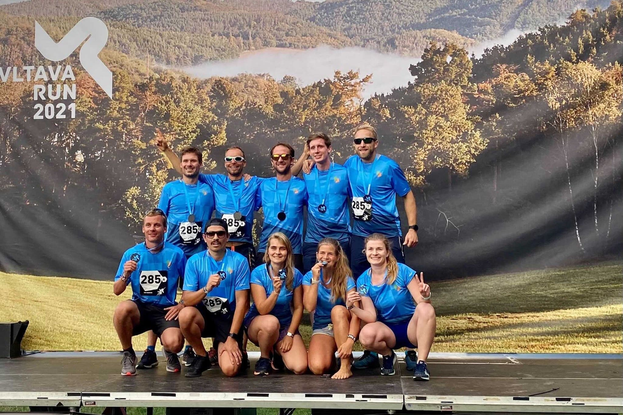 Apify team of runners