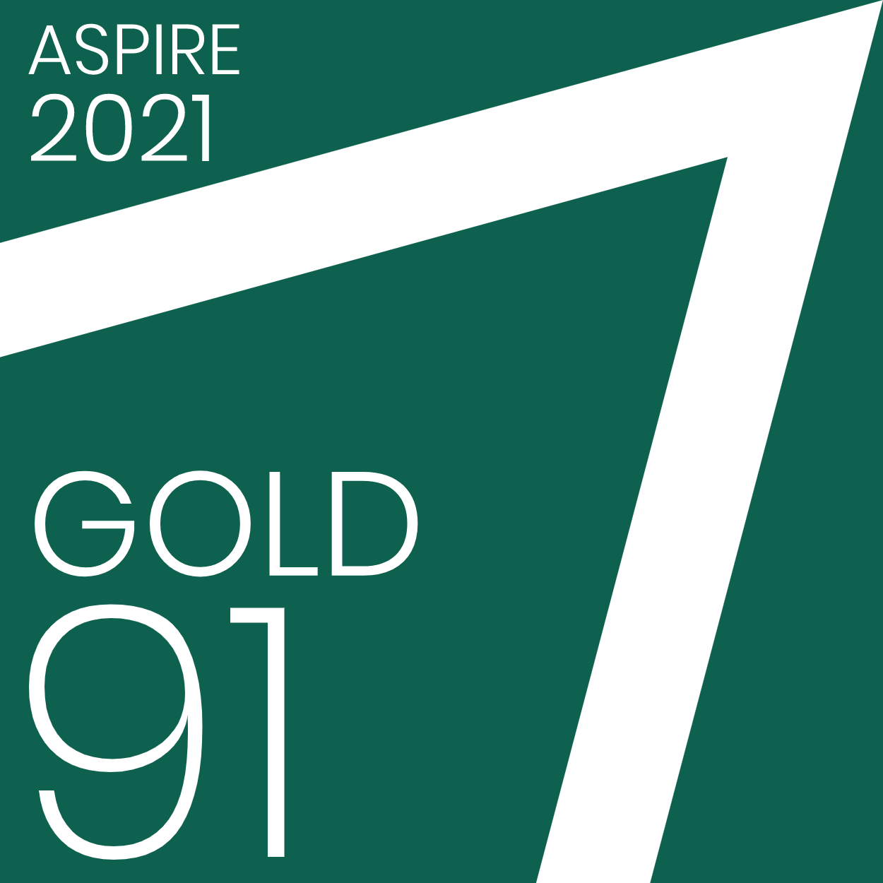 Perlego has been verified by ASPIRE with a gold-rated score of 91%
