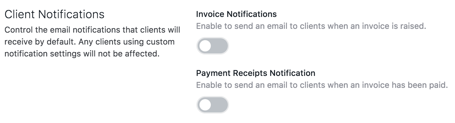Client Notifications Practice Ignition Help Center - Invoice email to client
