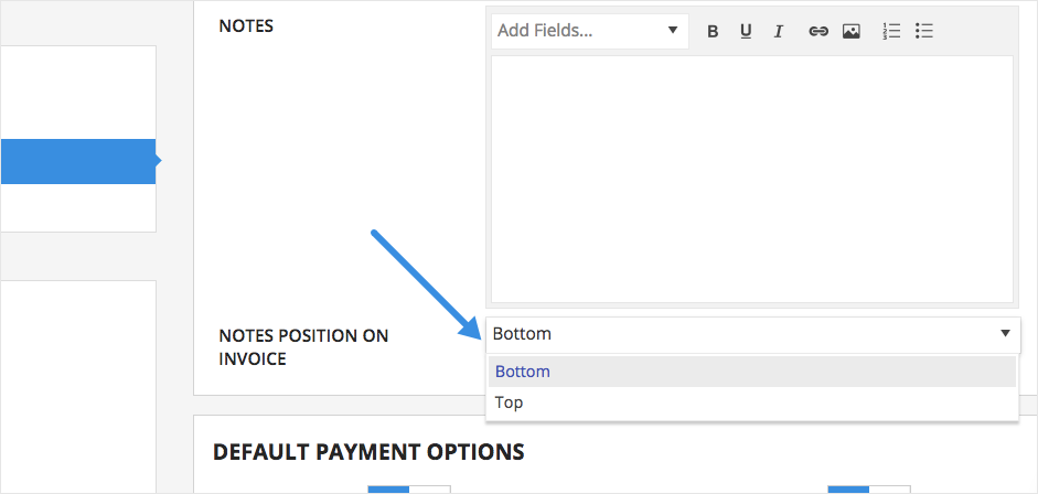 how do i add custom information to my invoices practicepanther
