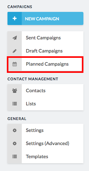planned campaigns highlighted