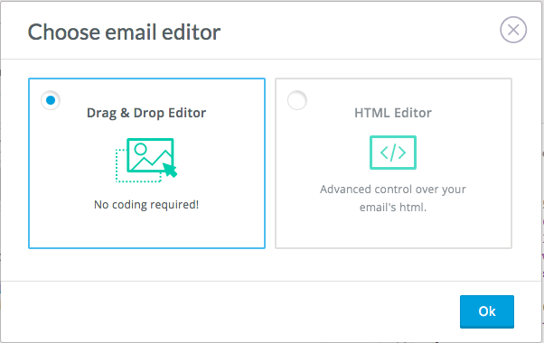 Choosing Your Email Editor | Privy Help Center