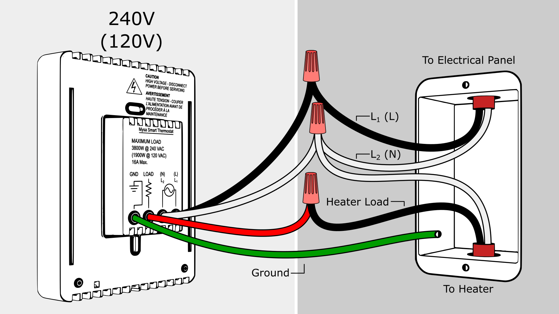 Old Fashioned Baseboard Heater Thermostat Wiring Diagram Ensign ...