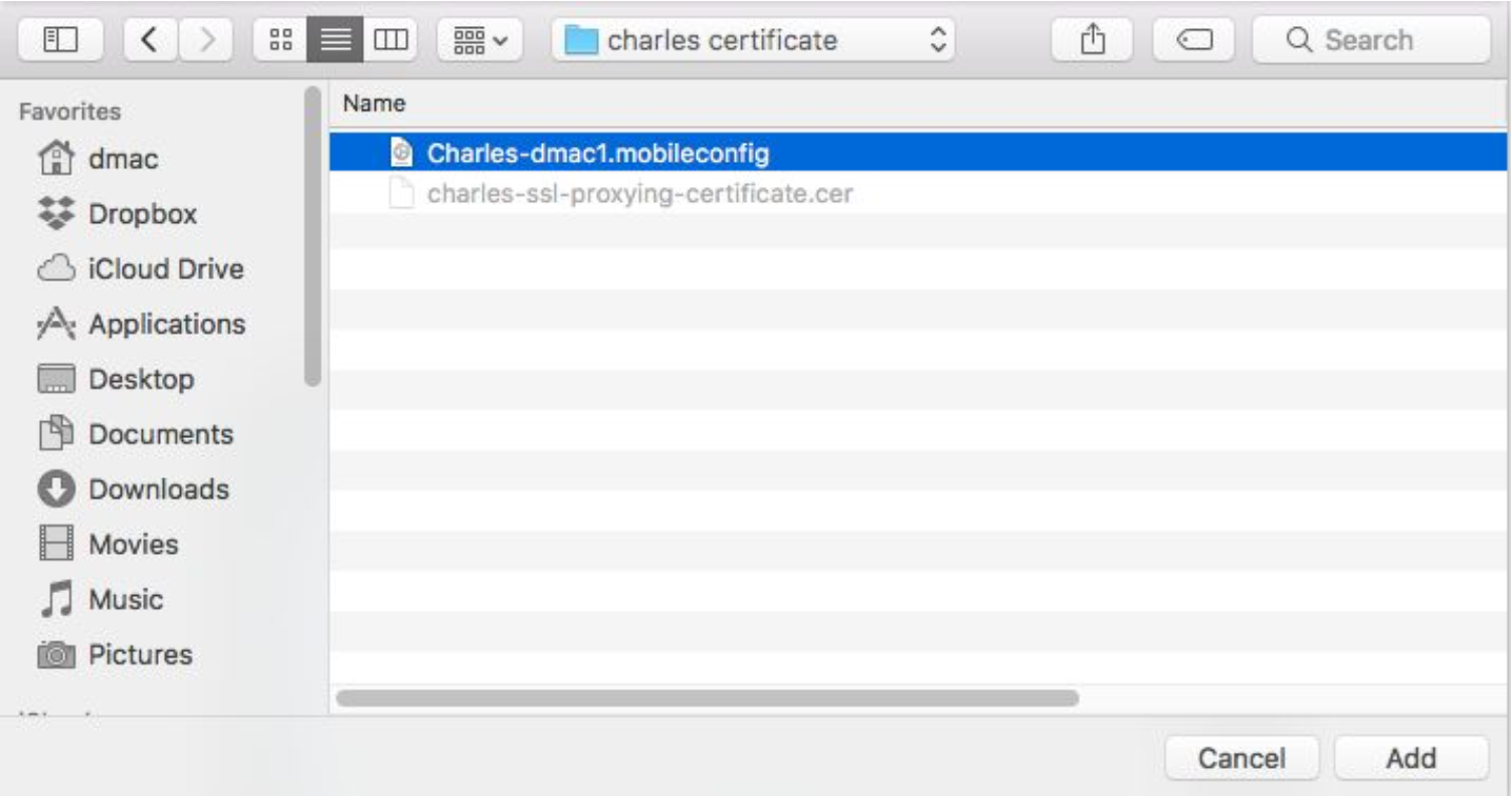 Charles Proxy Guide For Apple Tv Tv Os 11 Testlio Help Center