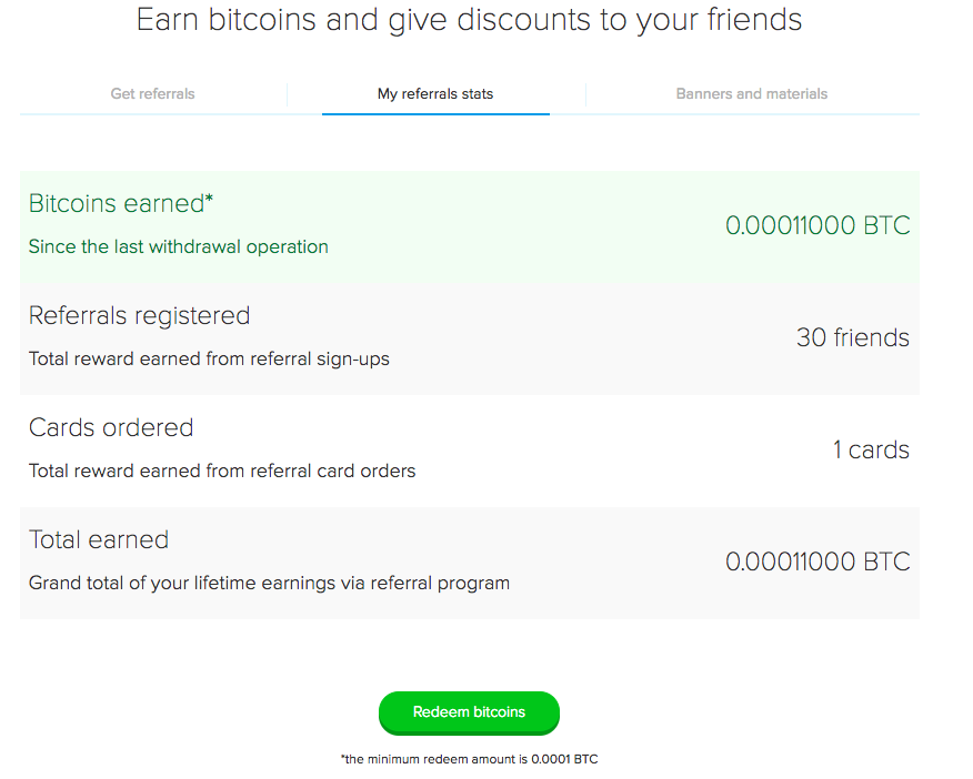 Cryptopay help center what is referral program please note the first revenue is earned when your affiliate makes their first transaction that is charged a fee sending and receiving btc is free of ccuart Images