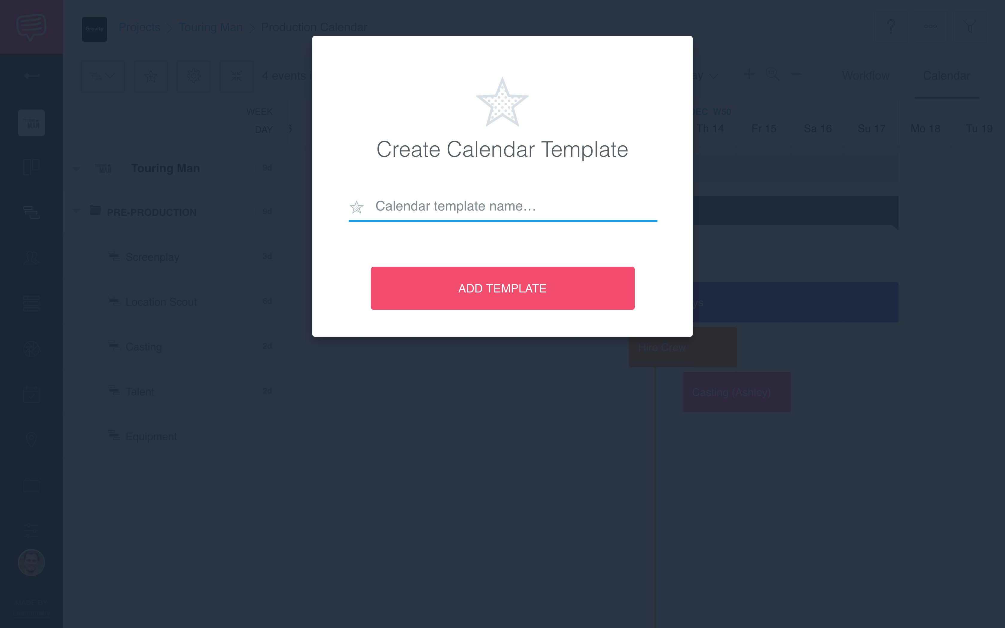 How To Create Calendar Templates Studiobinder Help Center