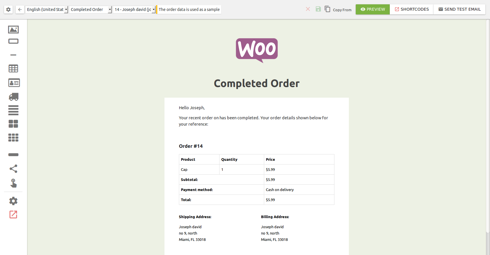 Steps to create order email template | FlyCart Documentation ...