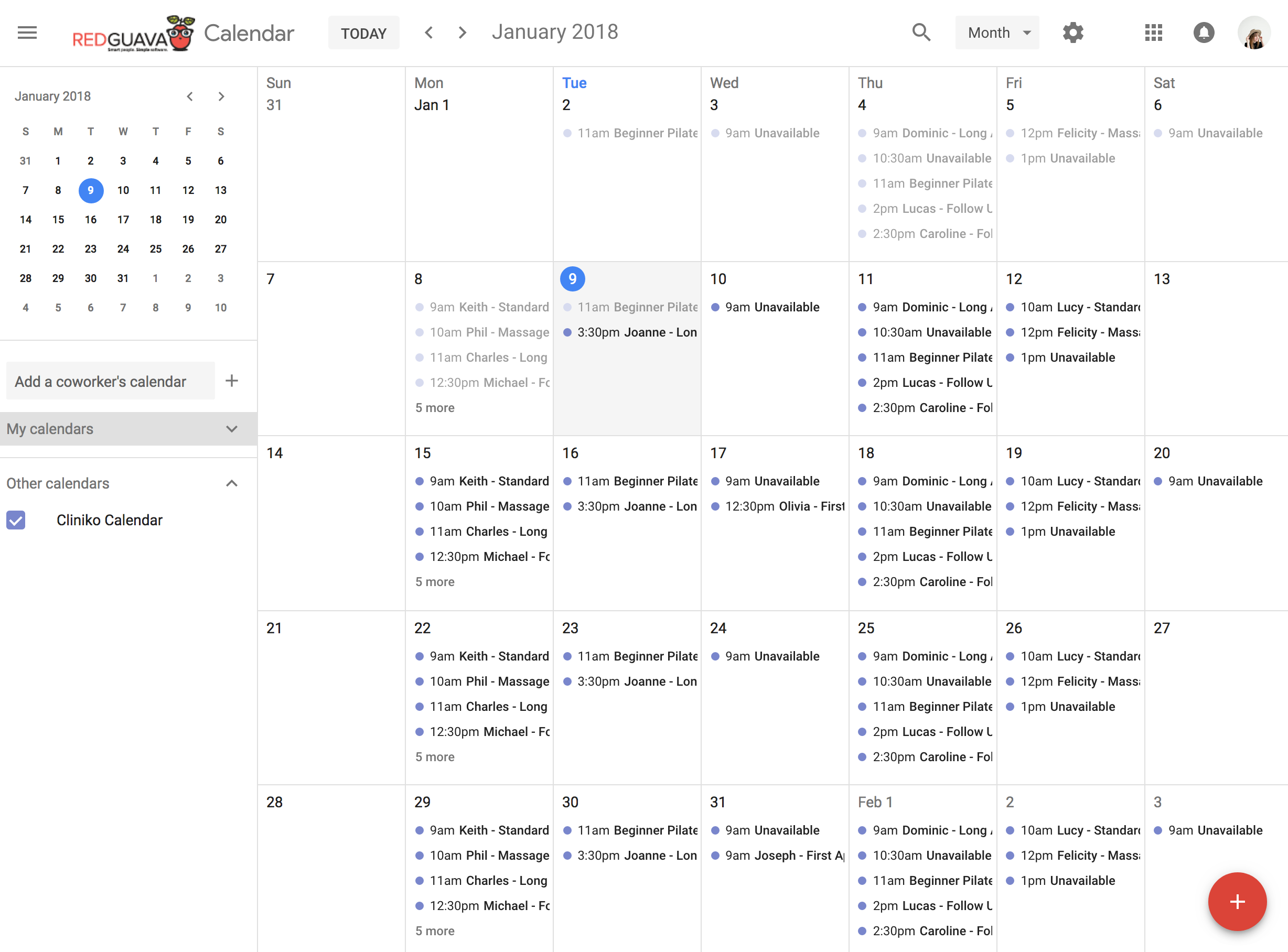import outlook calendar to google