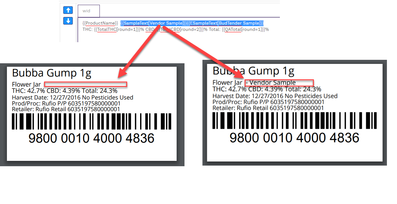 Foolproof your Vendor Sample and Educational Labels GrowFlow Help