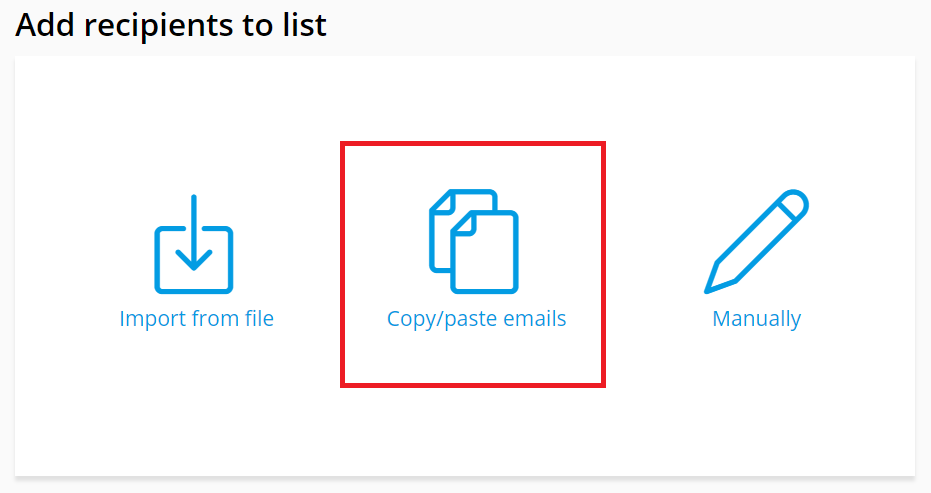How to copy and paste an email