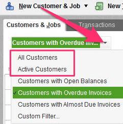 customer list excel