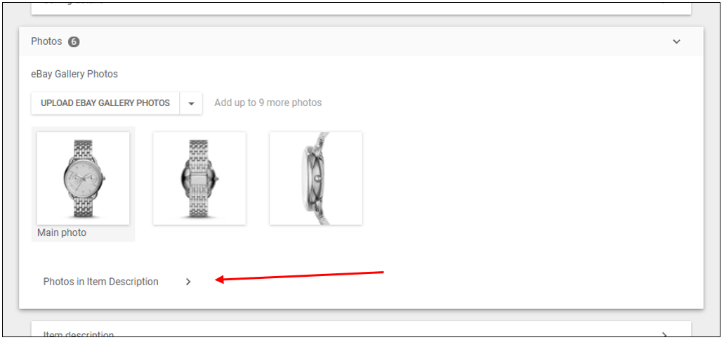 How To Add Images To The Gallery In Your Listing Item Description - Ebay item description template