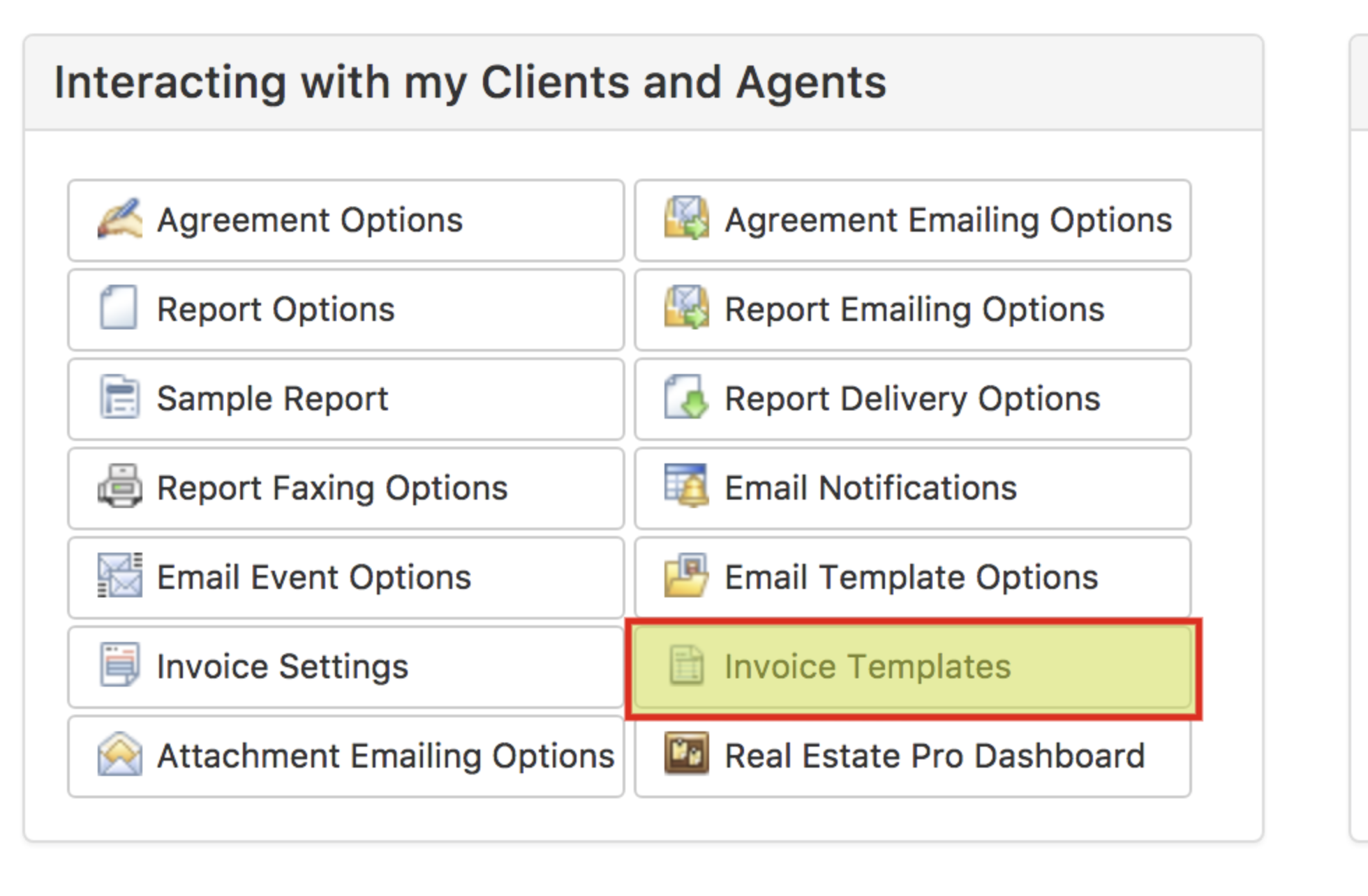 Customizing Invoice Templates Inspection Support Help Center - Event invoice template