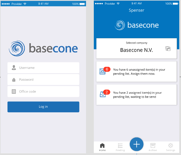 Save Or Send Receipts And Invoices In Spenser Basecone UK Help Center - Invoice to go login