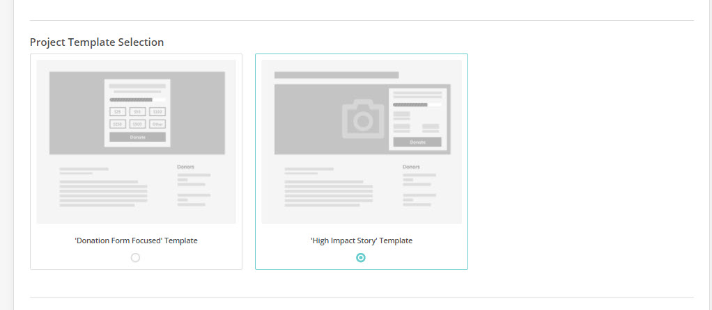 How to Choose an Everyday Giving Page Template | Network for Good ...