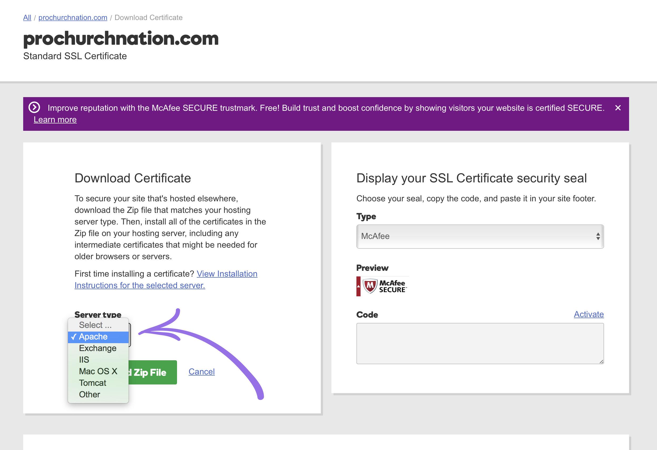Godaddy Ssl Certificate Nucleus Help Center