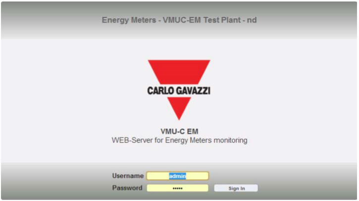 Carlo Gavazzi VMU-C EM