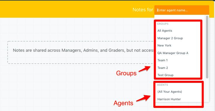 agent groups