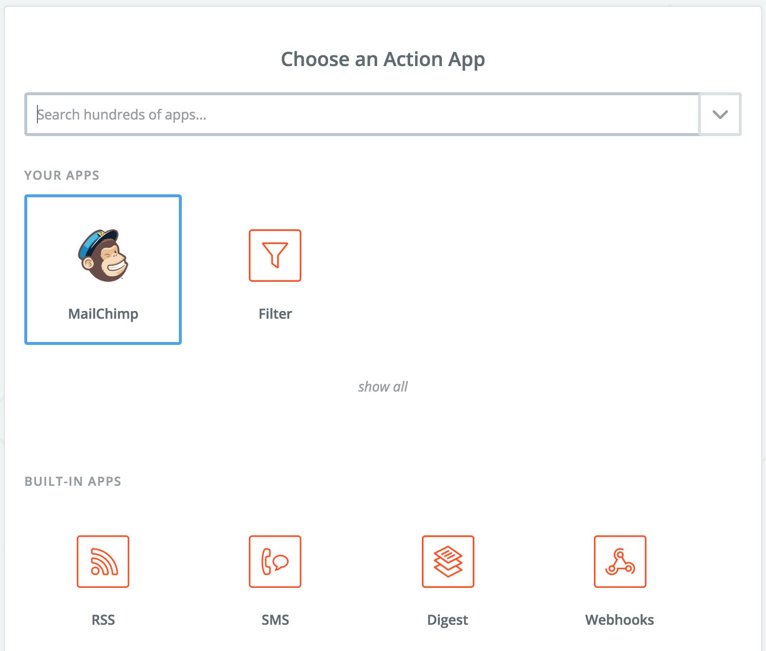 SatisMeter - Zapier integration - Action App
