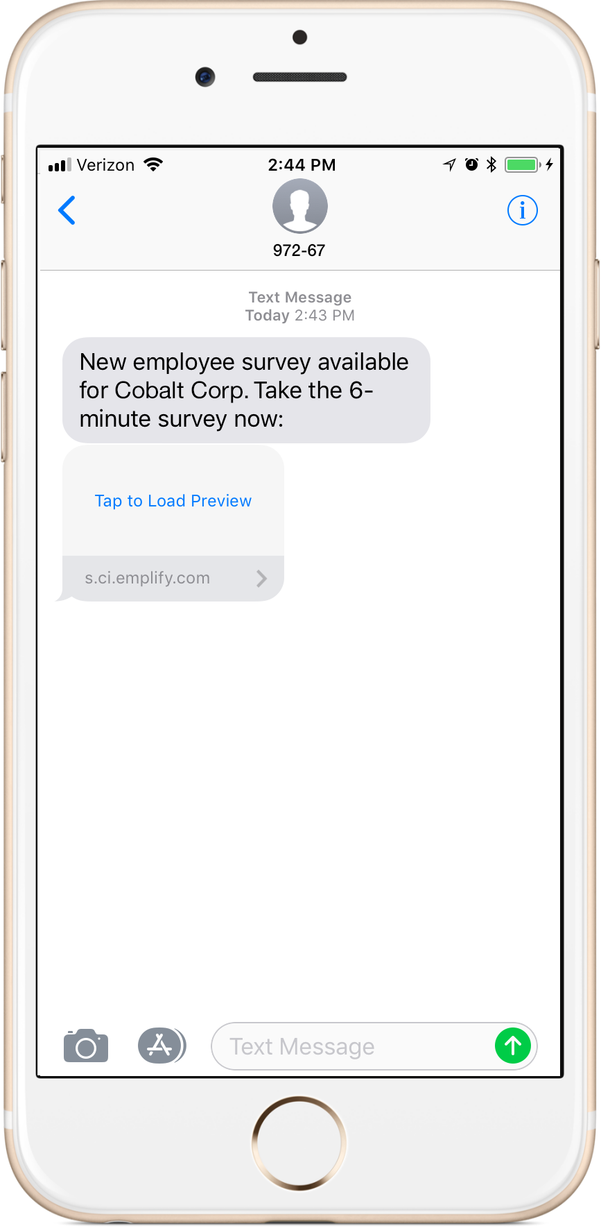 21318 release emplify insights survey and smartpulse sms invitations and reminders are now sent from a short code stopboris Gallery