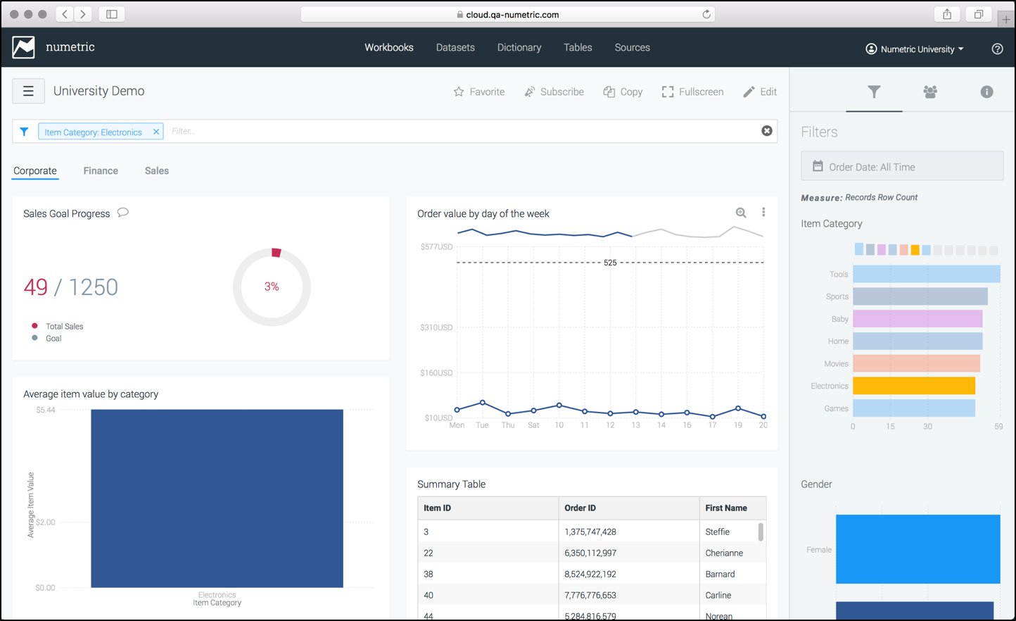 Getting Started — Step 6: Visualize Your Data With a Workbook ...