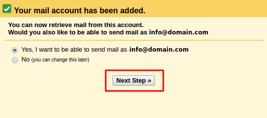 setting gmail untuk domain sendiri