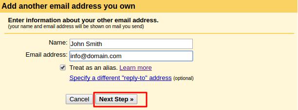 email gmail dengan domain