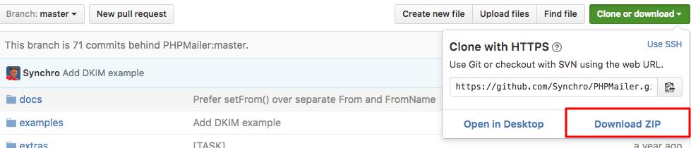 phpmail github