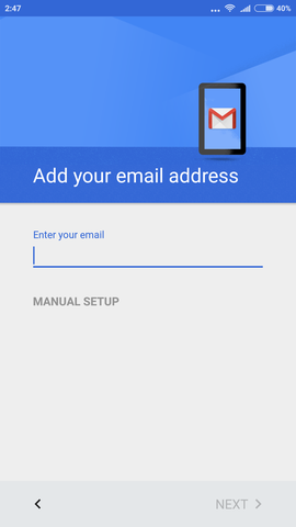 cara setting email kantor di android